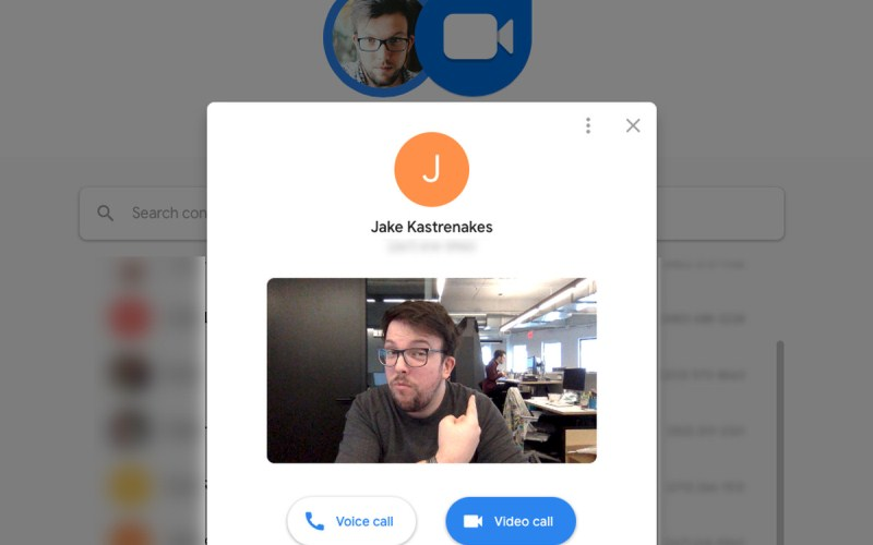 El servicio de video chat de Google Duo se traslada a la web
