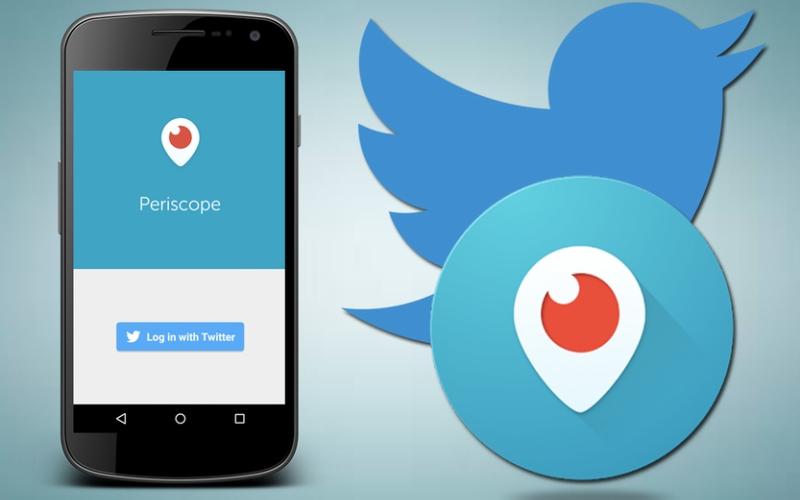 Twitter permite invitar a las transmisiones de Periscope