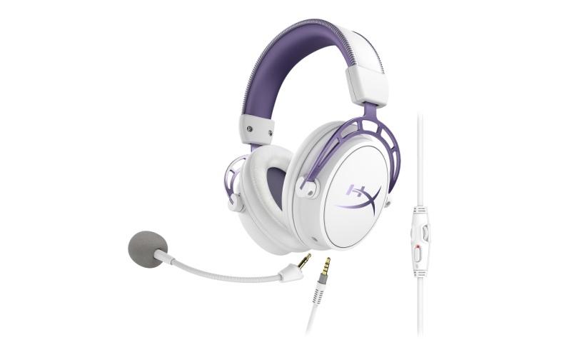 HyperX anuncia los audífonos HyperX Cloud Alpha Purple Edition