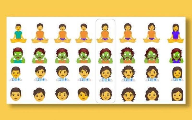 Google está lanzando más de 50 nuevos Emoji con inclusión de género
