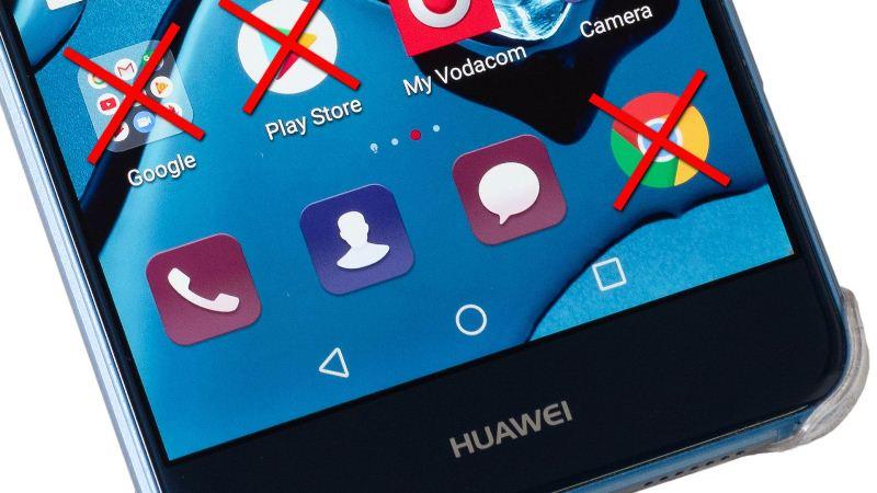 Google rompe el acceso a Huawei