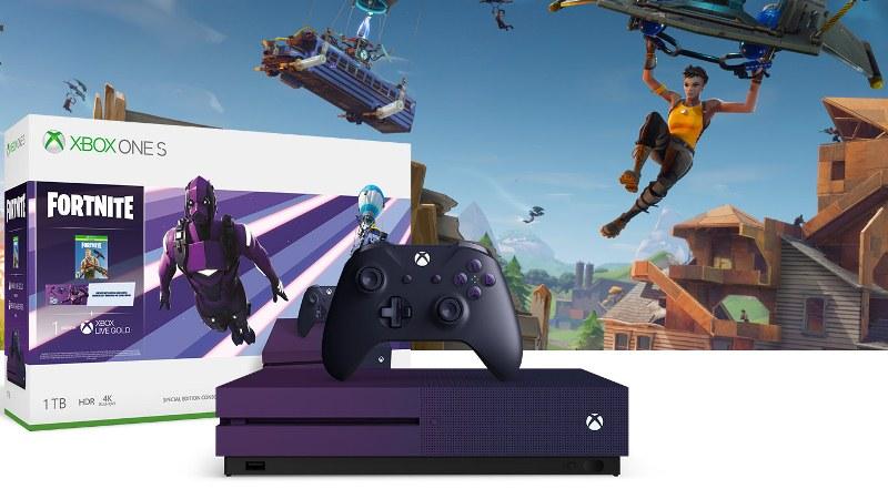 Previo al E3 Microsoft revela la consola Xbox One de Fortnite