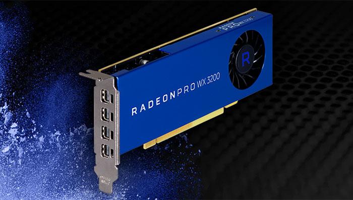 AMD Radeon Pro WX 3200: una GPU potente y de formato pequeño para profesionales de CAD