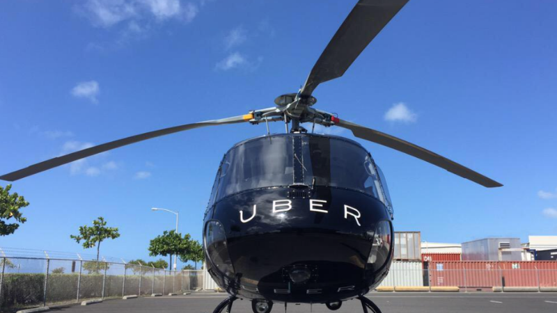 Uber estrena servicio aéreo en Nueva York