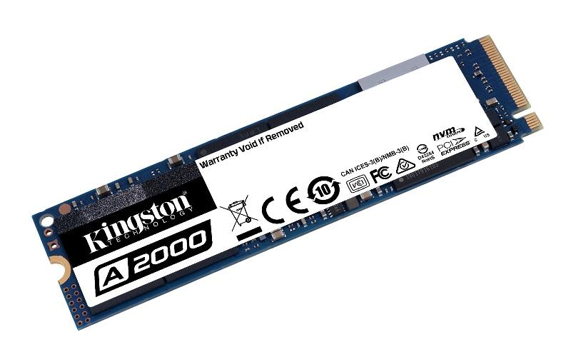 Kingston lanza SSD NVMe PCIe A2000 de próxima generación