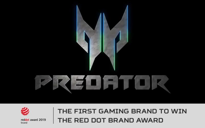Predator de Acer es la primera marca gaming en ganar el Red Dot Brand Award