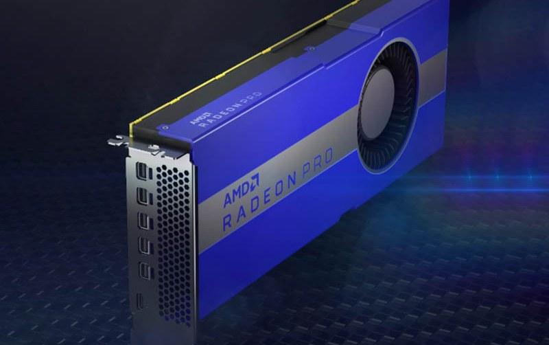 AMD lanza Radeon Pro W5700, la primera GPU de 7nm de estación de trabajo profesional para PC del mundo