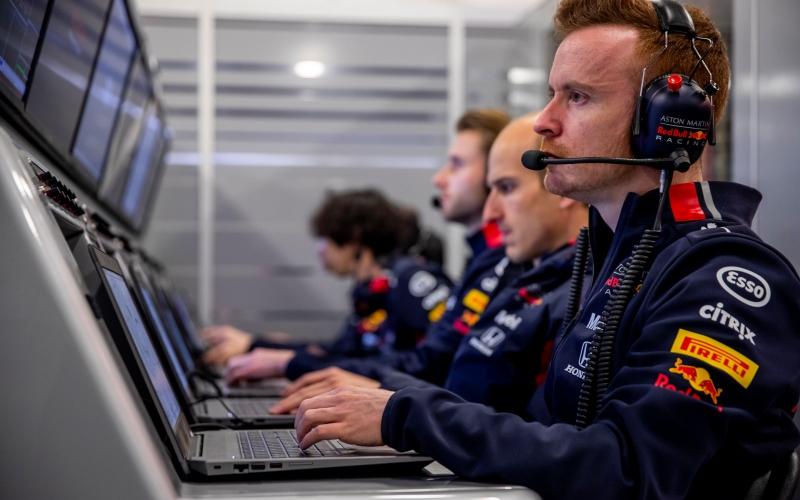 Aston Martin Red Bull Racing renueva su asociación con Citrix