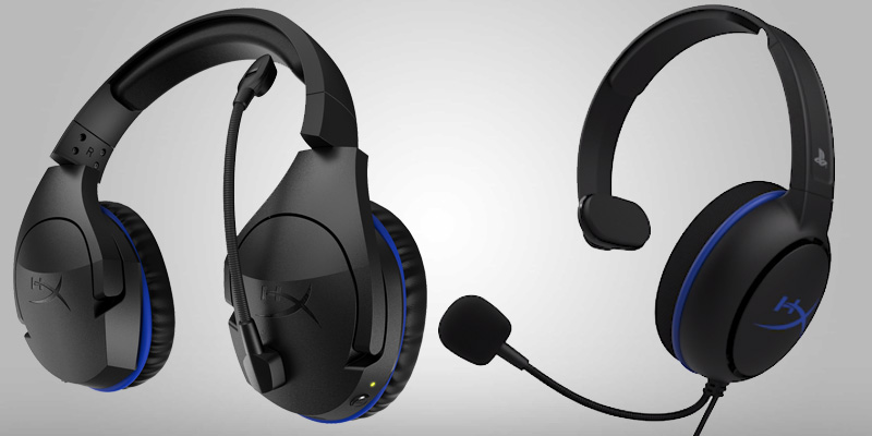 HyperX lanza audífonos oficiales para PlayStation®4, Cloud Chat y Cloud Stinger