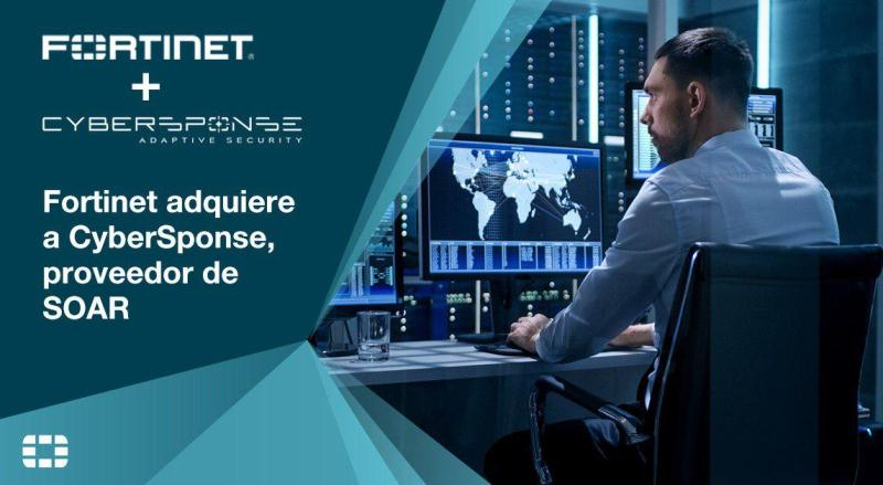 Fortinet adquiere CyberSponse, el proveedor de SOAR