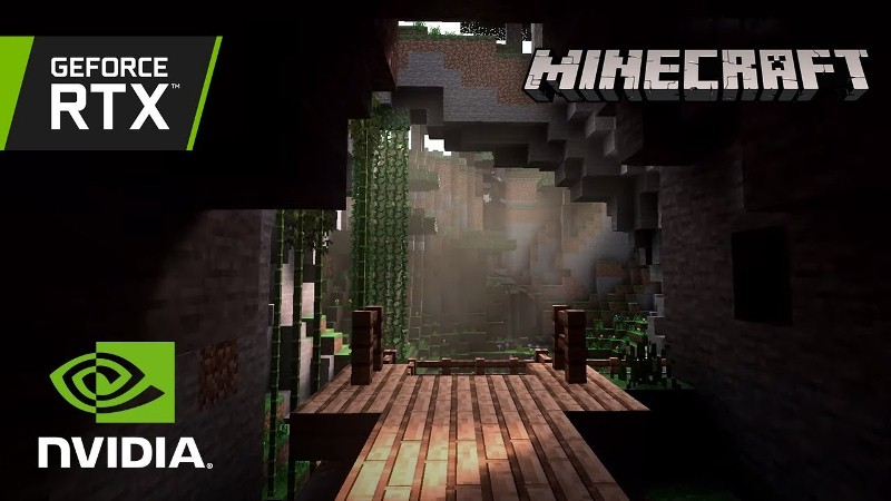 GTC 2019: anuncian los mundos creados por los jugadores de Minecraft con Ray-Traced