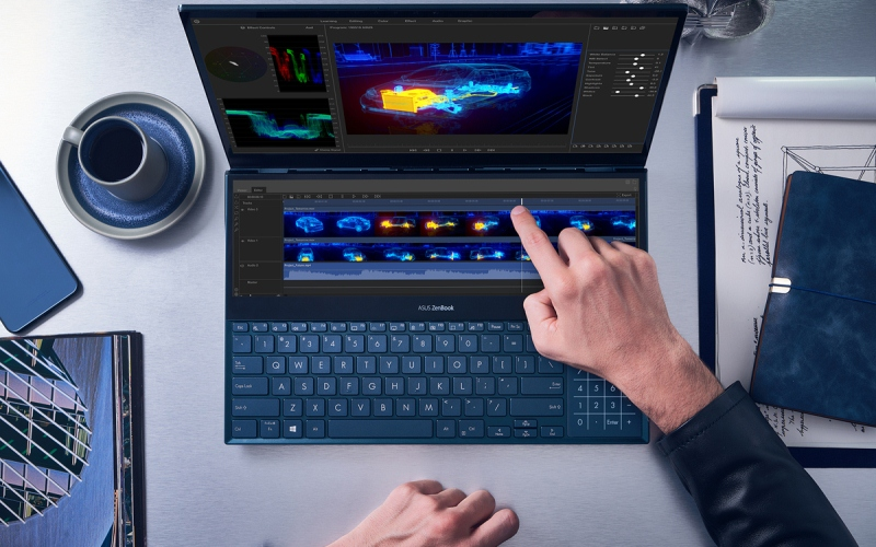 ZenBook Pro Duo recibe premio en CES 2020 Innovation Awards