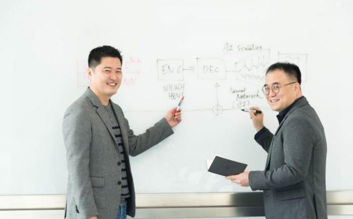 Desarrollo de AI ScaleNet: Haciendo posible la transmisión en 8K