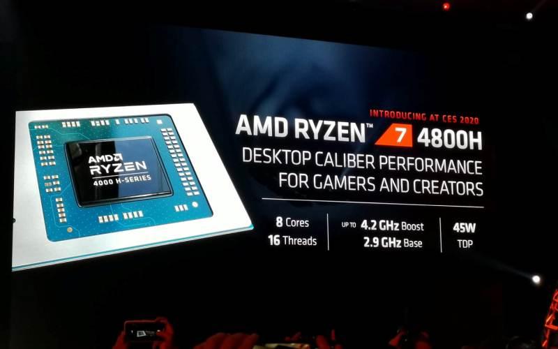 AMD anuncia en CES 2020 procesadores de mayor desempeño en el mundo