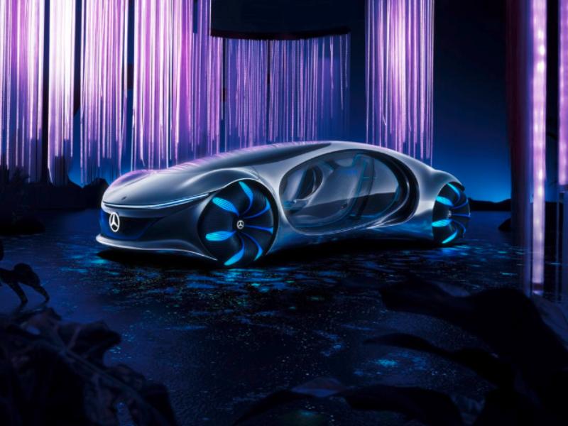 Vehículos futuristas en CES 2020