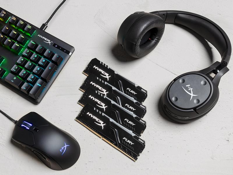 HyperX comienza el 2020 con nueva línea de accesorios para videojuegos en PC y consola