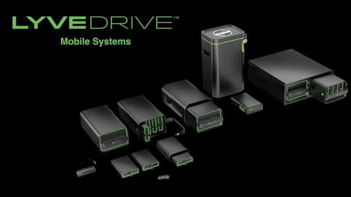 El sistema móvil Lyve Drive™ de Seagate activa la esfera de datos en CES 2020