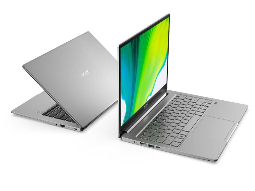 Acer suma dos nuevas notebooks ultradelgadas a su serie Swift