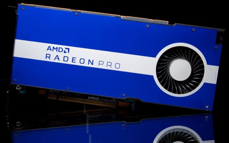AMD introduce las gráficas para workstations AMD Radeon™ Pro W5500