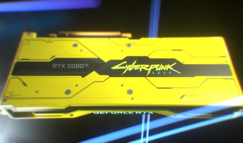 Detalles – GeForce RTX 2080 Ti Cyberpunk 2077 Edition