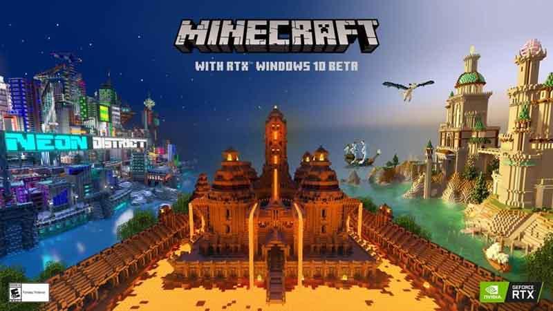 Lanzamiento de la beta de Minecraft con RTX: ofrece a millones de jugadores impresionantes imágenes