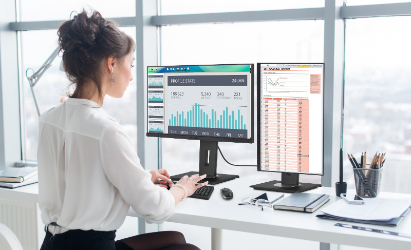ViewSonic lanza monitor para transformar los espacios de trabajo con software integrado