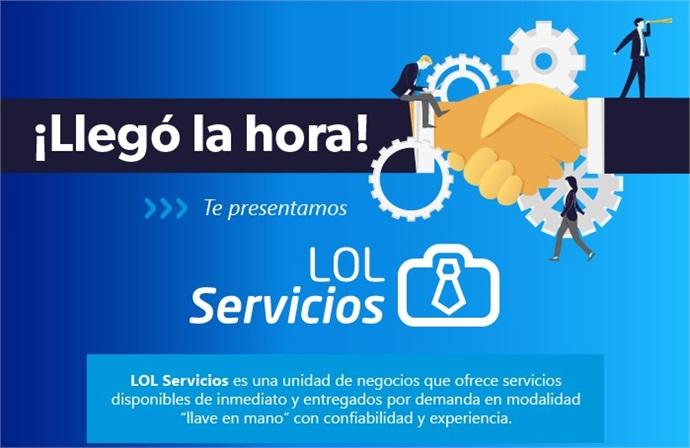 LicenciasOnLinerelanza unidad de servicios profesionales y pone a disposición el nuevo portafolio de LOL Servicios