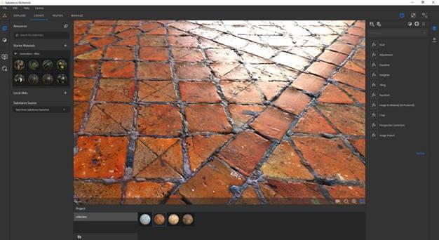 NVIDIA RTX impulsa nuevas funciones de IA en AdobeSubstanceAlchemistyBlender