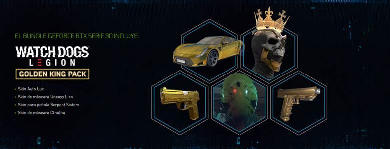 ¡Llévate Watch Dogs: Legion con la GeForce RTX Serie 30!
