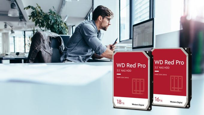 Western Digital presenta WD Red Pro de 16TB y 18TB