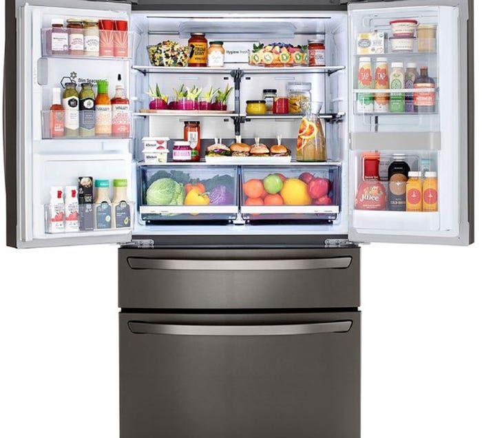 Las refrigeradoras LGInstaviewDoorInDoorconCraftIce le dan un estilo elegante a tus bebidas