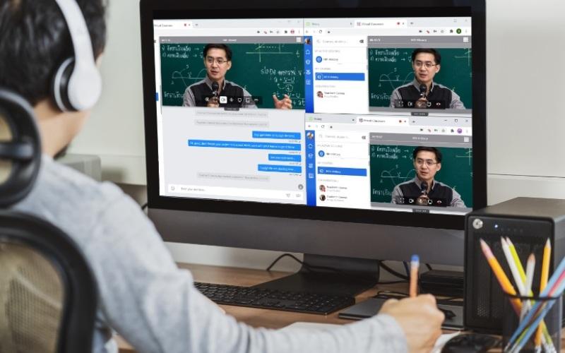 Alcatel-Lucent EnterpriselanzaRainbow Classroom