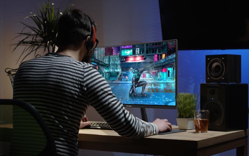 ViewSonic presenta nueva línea de monitores VX18, ideal paragamingy entretenimiento en el hogar