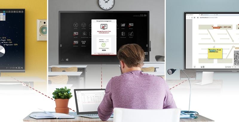 La suitemyViewBoardde ViewSonic lidera la evolución de ecosistemas de aprendizaje