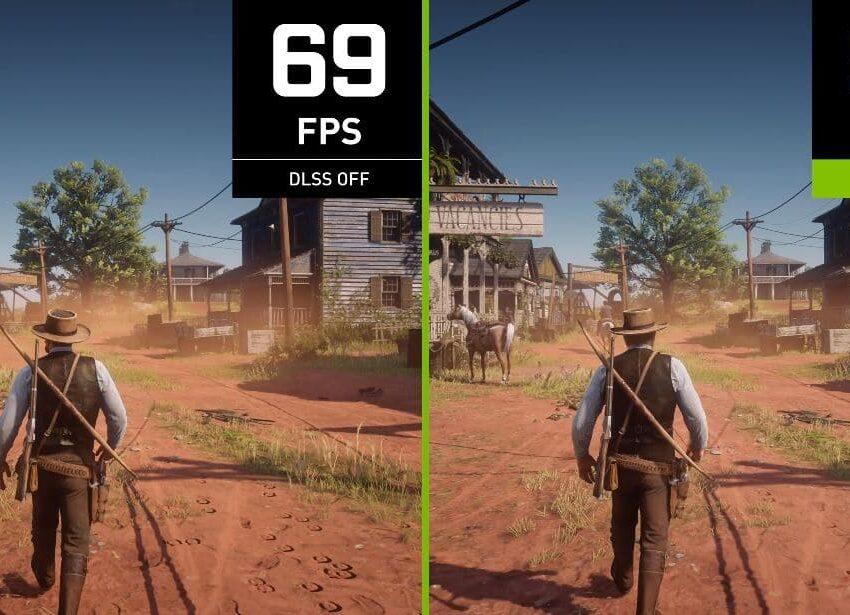 Red Dead Redemption 2 y Red Dead Online incorporan NVIDIA DLSS y aumentan su rendimiento con las GPU GeForce RTX