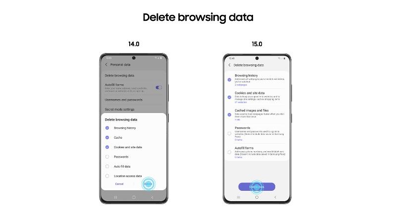 Samsung Internet 15.0 Beta ya está disponiblecon nuevas funciones y privacidad perfeccionada