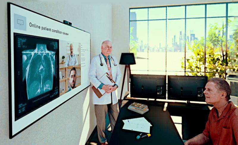 Plataforma de videoconferencias de LG ofrece solución de telemedicina basada en la nube en tiempo real