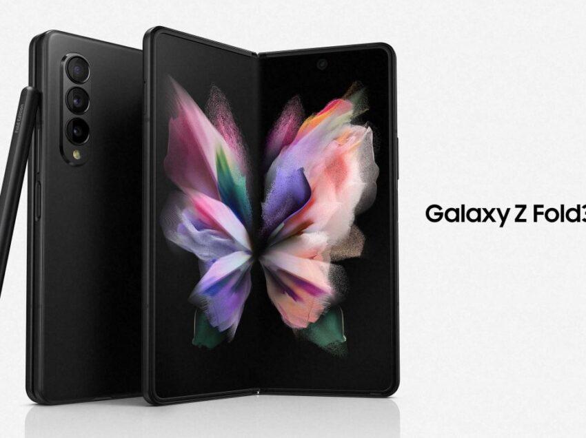 Galaxy Z Fold3 5G es el primer smartphone plegable del mundo   con cámara debajo la pantalla